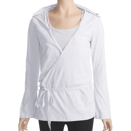 Zobha Anna Wrap Shirt - Long Sleeve (For Women)