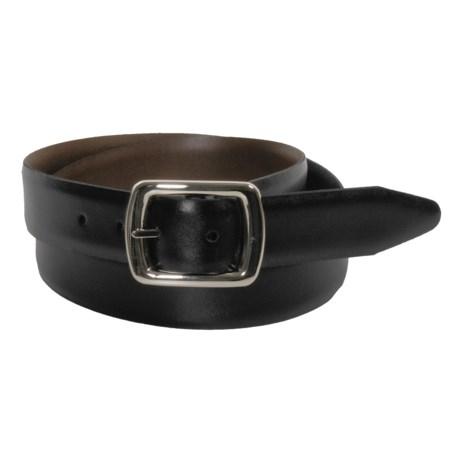 Bruno Magli Reversible Leather Belt - Nickel Buckle (For Men)