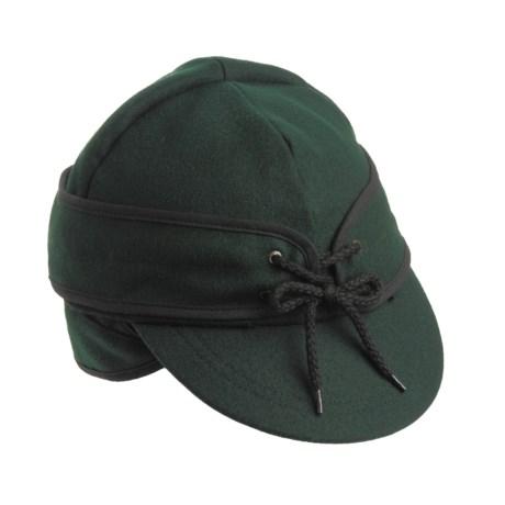 Bailey Reversible Railroad Cap - Wool, Ear Flaps (For Men)