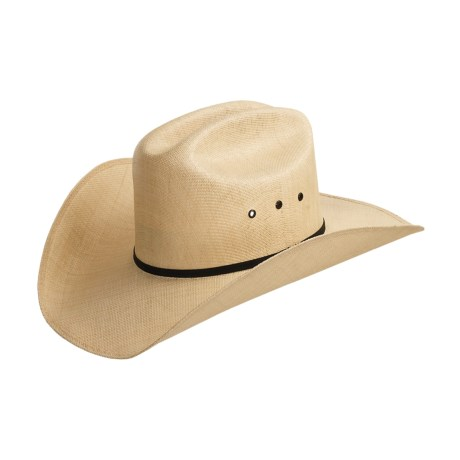 Bailey Top-Notch Hat - 20x Straw, Cattleman Crown (For Men and Women)