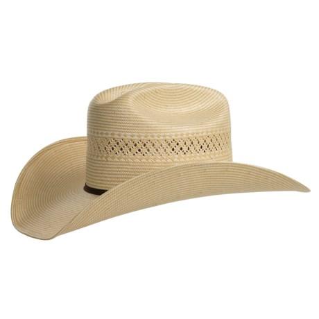 Bailey Briggs Hat - 10x Straw, Cattleman Crown (For Men and Women)