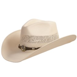 Bailey Haskell Hat - 10x Straw, Hondo Crown (For Men and Women)