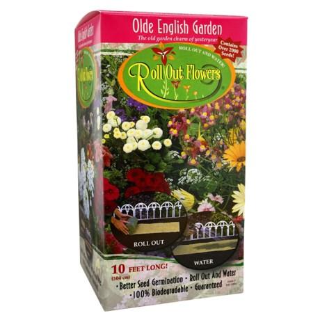 Garden Innovations Roll Out Flower Garden