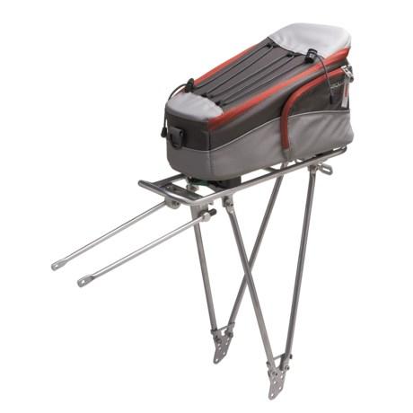 Ortlieb Racktime Fold-It Rear Bike Rack with Trunkit - Small