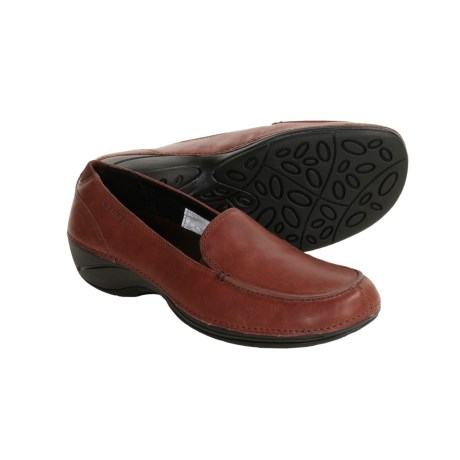 Merrell Parma Leather Shoes - Slip-Ons (For Women)