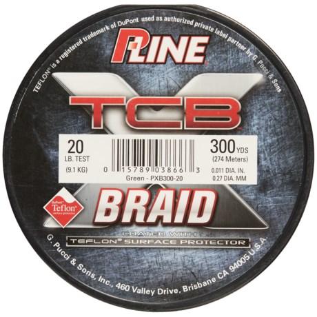 P-LINE P-Line TCB Teflon®-Coated Braided Fishing Line - 20 lb., 300 yds.