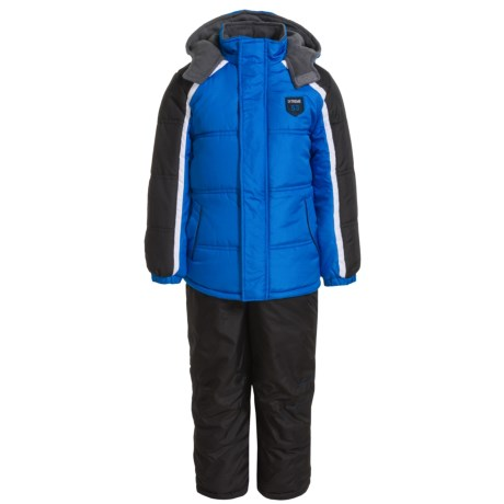 iXtreme Stripe Sleeve Color-Block Snowsuit - Insulated (For Little Boys)