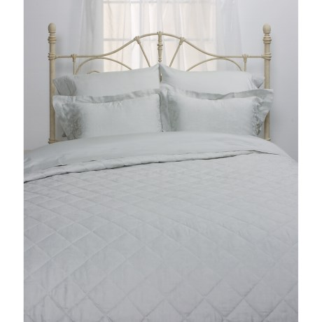 Peacock Alley Venecia Quilted Coverlet Set - King, 300TC