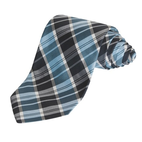 Altea Large Plaid Tie - Silk (For Men)