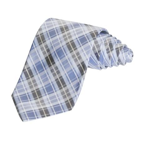 Altea Multi-Plaid Tie - Silk (For Men)