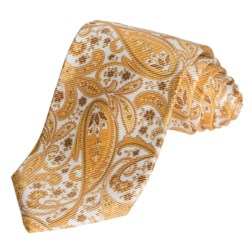 Altea Bright Paisley Tie - Silk (For Men)