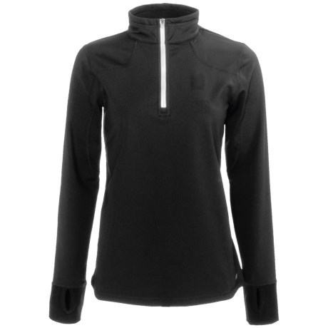 New Balance Competitor Shirt - Zip Neck, Long Sleeve (For Women)