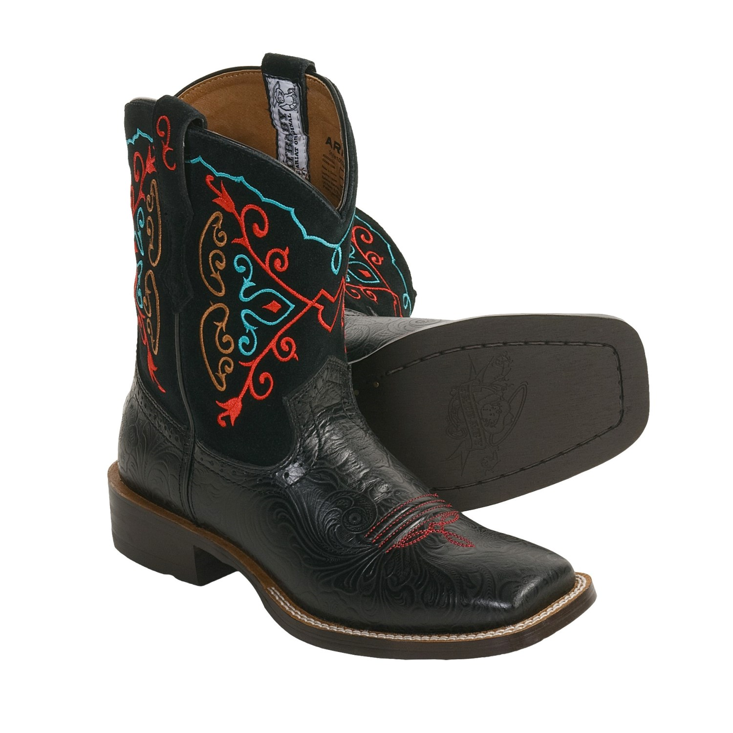 Ariat Rodeobaby Square Toe Boots For Women 3266m Save 35