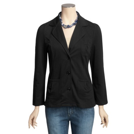 Avalin Notch Jacket - French Terry (For Women)
