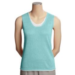 Avalin Linen Sweater - Sleeveless (For Women)