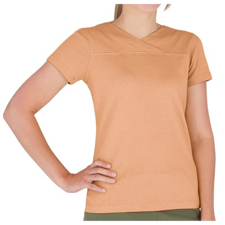 Royal Robbins Kick Back Crossover Shirt - UPF 40+, Short Sleeve (For Women)