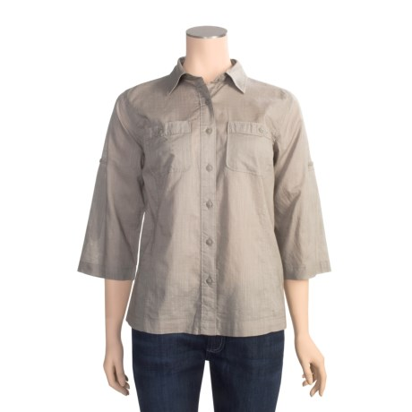 Royal Robbins Camp Shirt - Convertible 3/4 Sleeve (For Women)