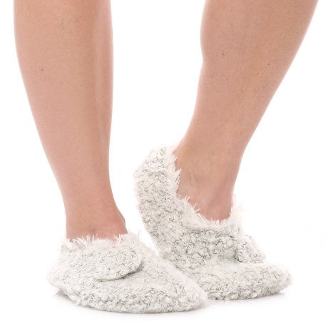 Anew LemonTeddy Bear Bootie Slippers (For Women)