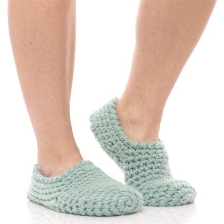 Lemon Nonas Bootie Slippers - Faux-Fur Lined (For Women)