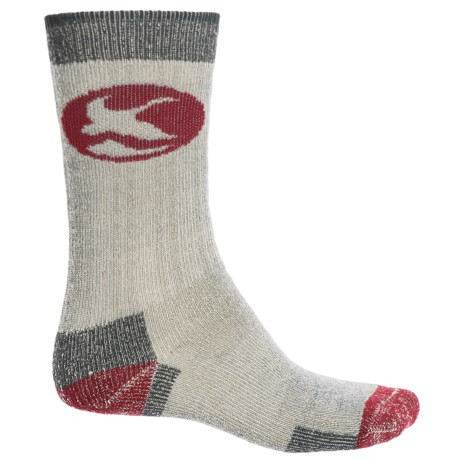 Specially made Merino Wool Hiking Socks - Crew (For Men)