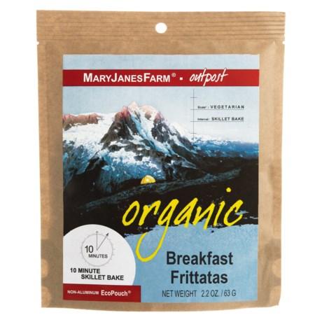 MaryJanesFarm Organic Breakfast Frittatas - Vegetarian, 1.5 Servings