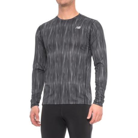 New Balance Accelerate Graphic T-Shirt - Long Sleeve (For Men)