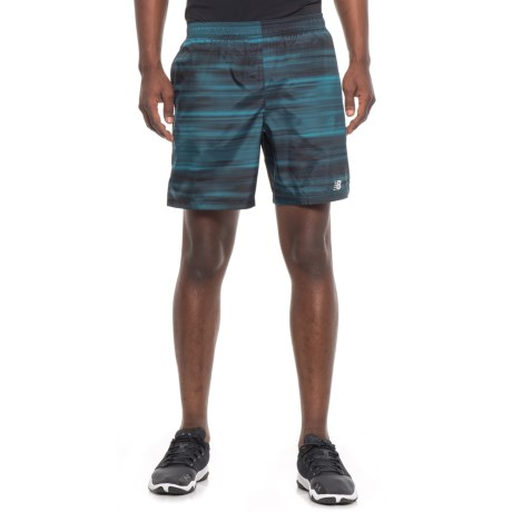"New Balance Woven Running Shorts - Built-in Briefs, 7"" (For Men)"