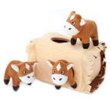 ZippyPaws Zippy Burrow Interactive Dog Toy - Squeaker