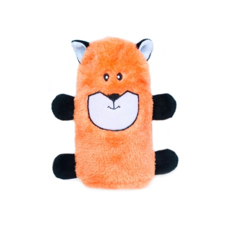 ZippyPaws Colossal Buddie Fox Dog Toy - Squeaker