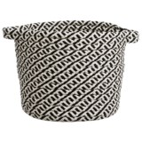 Colonial Mills Chevron Weave Storage Basket - 12x13""