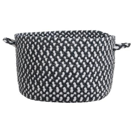 "Colonial Mills Linwood Storage Basket - Large: 12x20"""