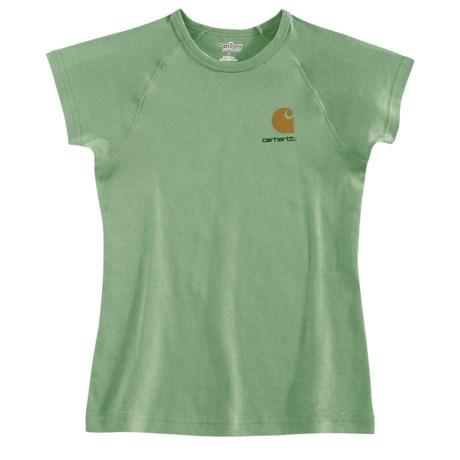 Carhartt Logo T-Shirt - Short Sleeve (For Women)