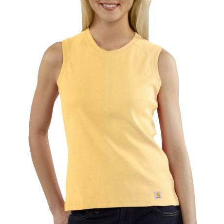 Carhartt Work Shirt - Sleeveless (For Women)