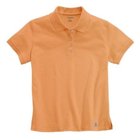 Carhartt Work Polo Shirt - Short Sleeve (For Women)