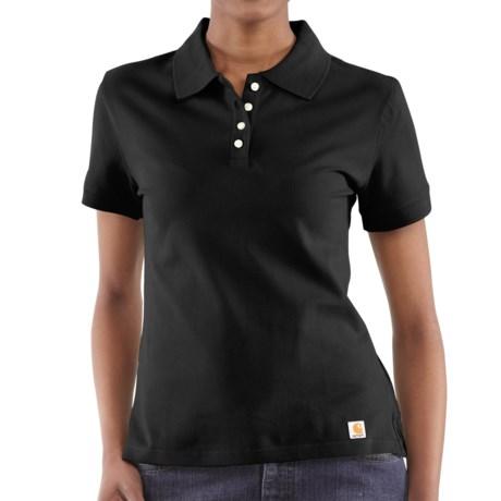 Carhartt Work Polo Shirt - Short Sleeve (For Women)