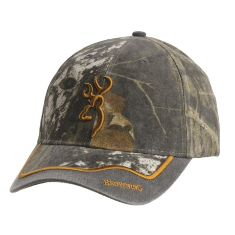 Browning Eastfork Camo Cap (For Men and Women)