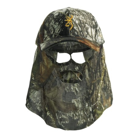 Browning Quik Camo Face Mask Cap