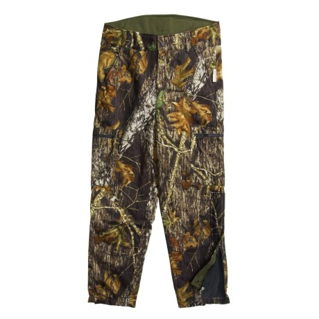 Browning Hells Canyon Camo Hunting Pants - Windproof, Fleece Lined (For Big Men)