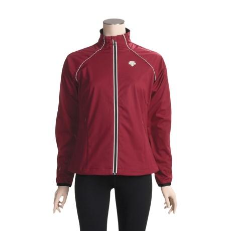 Descente Solo Run Jacket - Soft Shell (For Women)