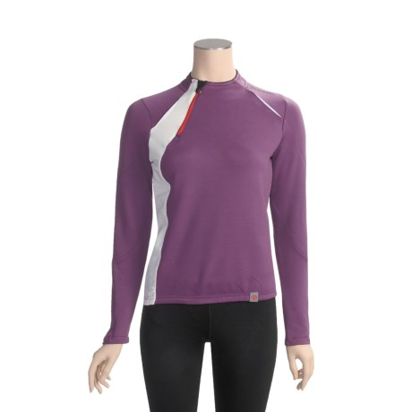 Descente Signature Cycling Jersey - Zip Neck, Long Sleeve (For Women)