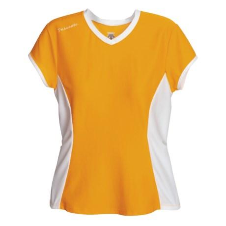 Descente Twist Shirt - Short Sleeve (For Women)