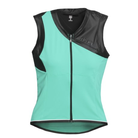 Descente Muse Cycling Jersey - Full Zip, Sleeveless (For Women)
