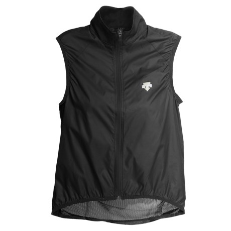 Descente Velom Cycling Wind Vest (For Women)