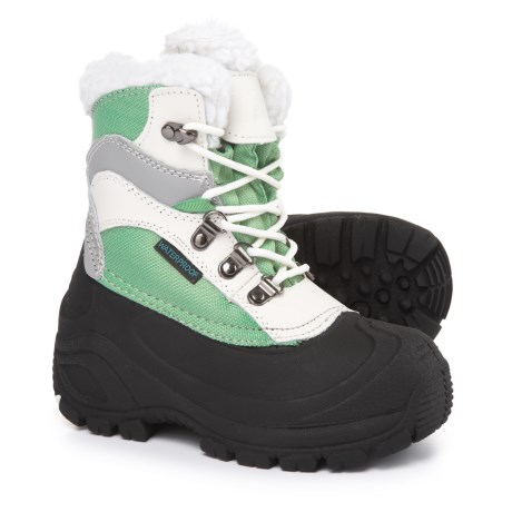 Itasca Sleigh Bell Snow Boots - Waterproof, Insulated (For Girls)