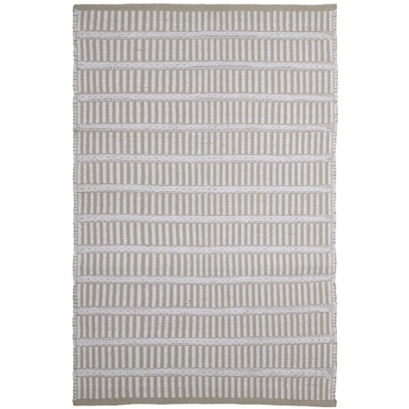 "Knits & Knots Flynn Cotton Scatter Rug - 30x48"", Fringeless"