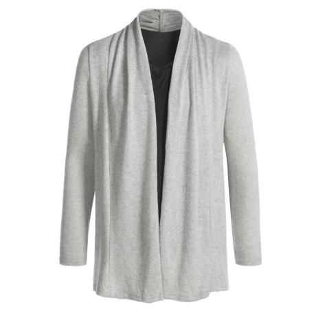 Poof Open Cardigan Sweater (For Girls)