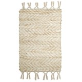 Timbuktu Lawson Cotton-Jute Scatter Rug - 24x36""