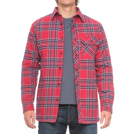Backpacker Flannel Shirt Jacket (For Men)