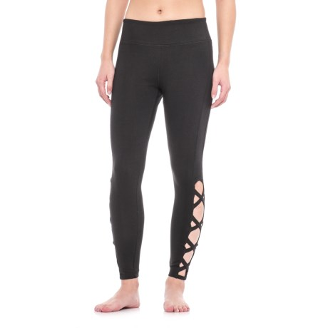 Vogo Open Lattice Leggings (For Women)