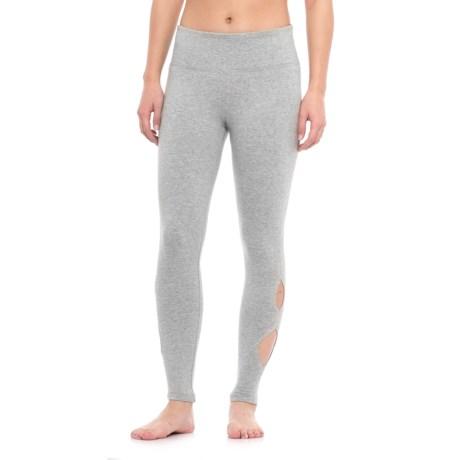 Vogo Teardrop Cutout Leggings (For Women)